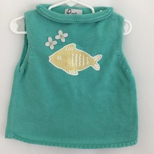 Girl's Lilly Pulitzer Fish Top